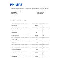 COP2013/01  Datos de eficiencia energética