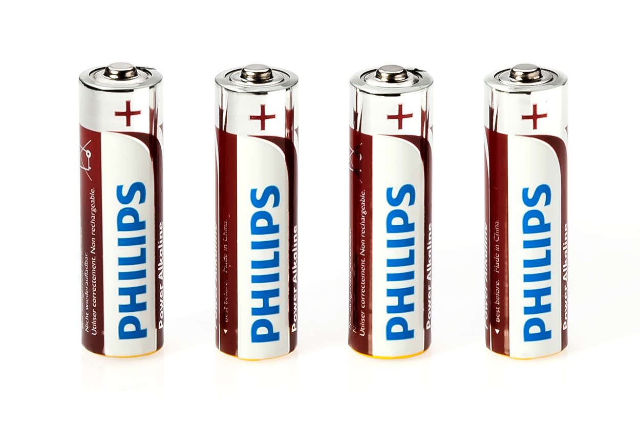 AA-Batterien für virtuelle Wand