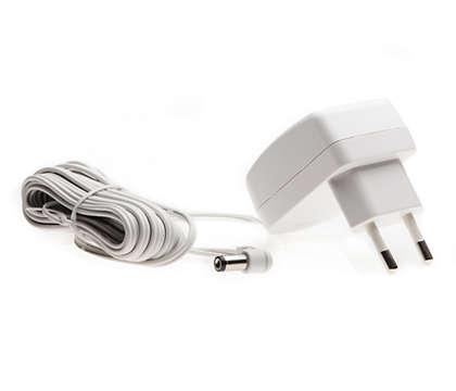 Anschluss Ihres Babyphones an das Stromnetz