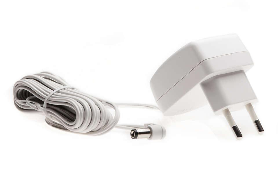 Podłącz nianię elektroniczną do sieci elektrycznej