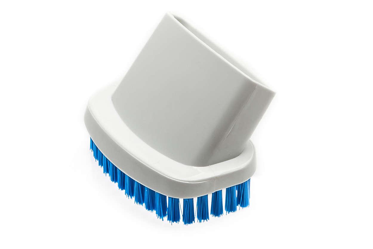 Brosse pour surfaces délicates et poils