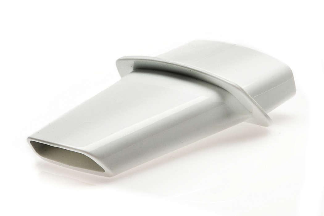 Bocchetta a lancia per pulire angoli o spazi stretti