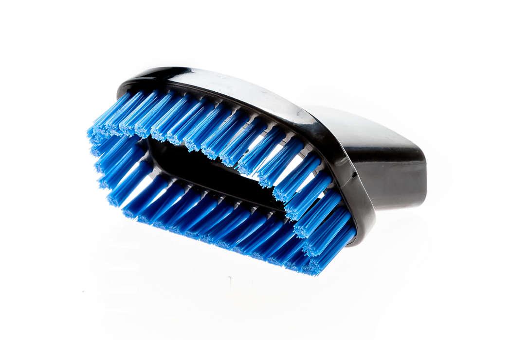 Penselverktyg för ömtåliga ytor och hår
