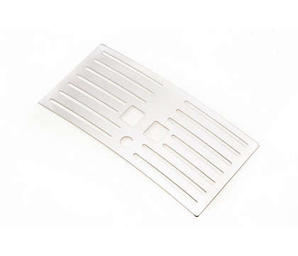 Drip tray grate