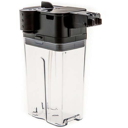 Vollständiger Milchbehälter