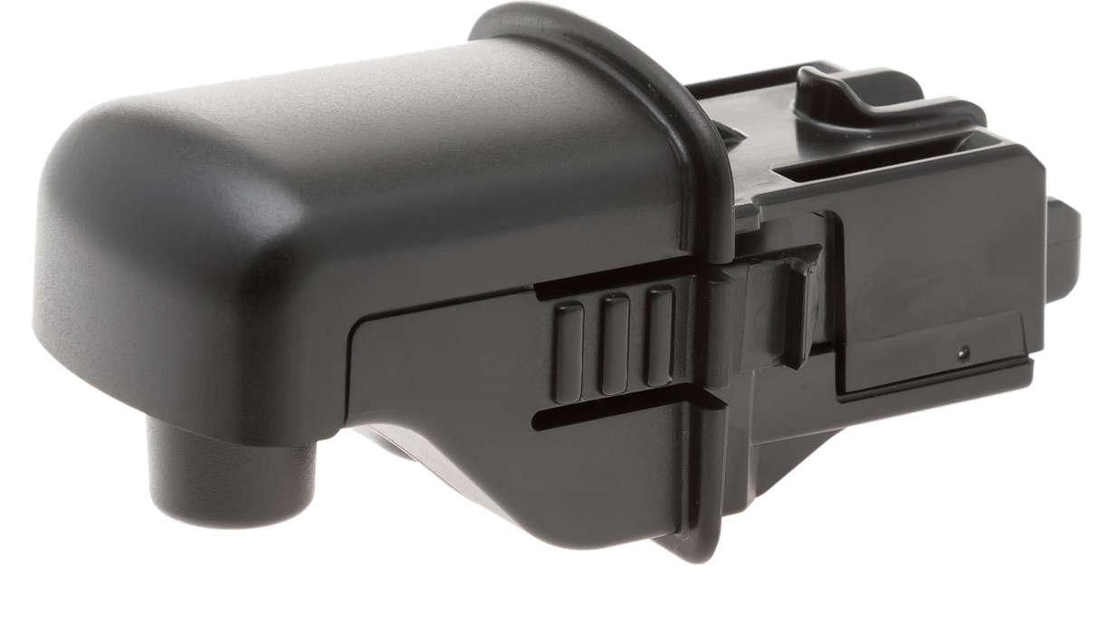 Schwarzer Wasserspender