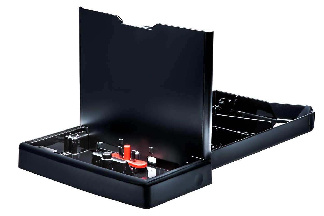 Dip tray