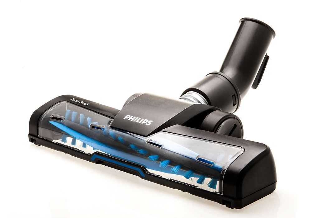 Cepillo Turbo con cabezal giratorio