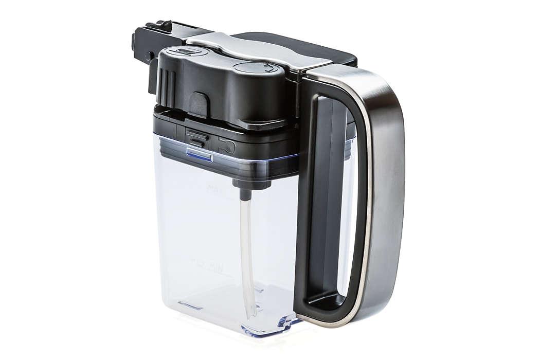 Vollständig transparenter Behälter