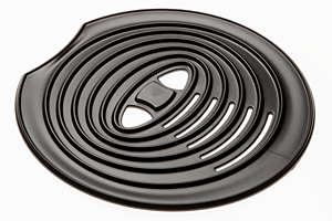 Für SENSEO Original Abtropfschalen-Abdeckung in Schwarz