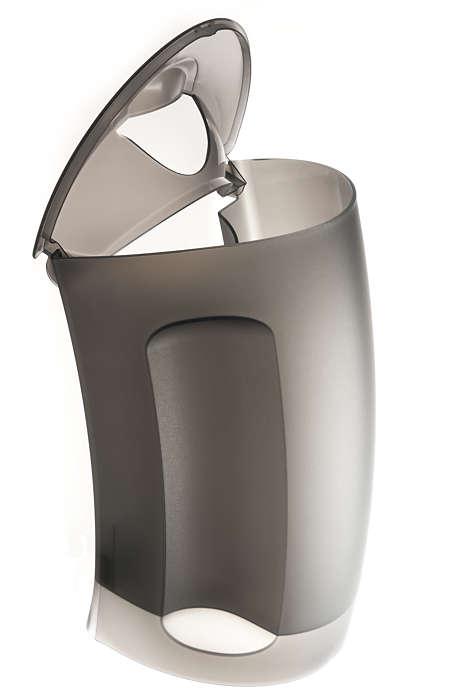Extra groot waterreservoir