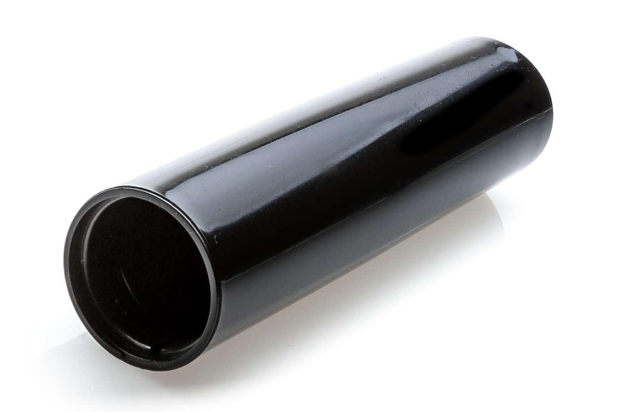Schwarze Abdeckung für den Pannarello