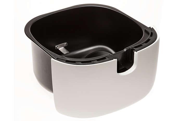 per sostituire il recipiente esterno in uso