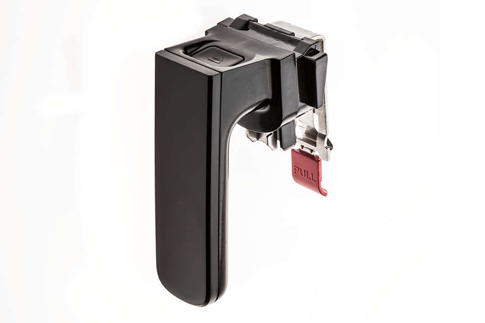 per sostituire l'impugnatura rimovibile in uso