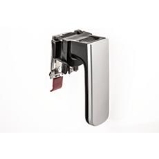 CP0359/01 -    Black/silver Airfryer handle