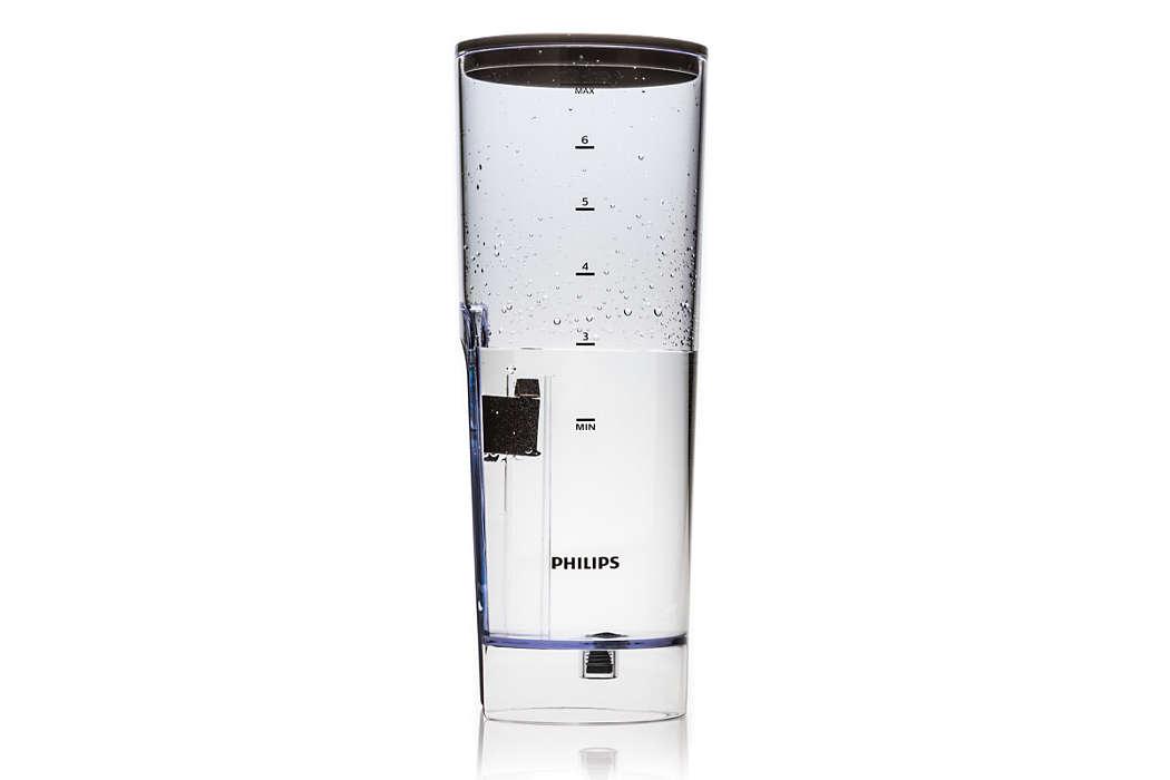 Zur Aufbewahrung von Wasser in Ihrer SENSEO Kaffeepadmaschine