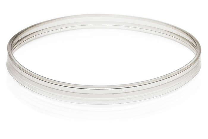 Těsnicí kroužek víka nádoby přístroje pro přípravu dětské stravy