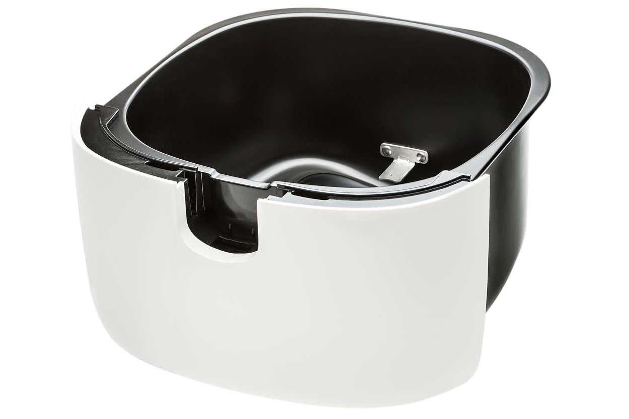 per sostituire il recipiente esterno in uso bianco
