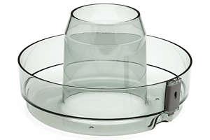 grijze plastic ring, pulpopvangbak