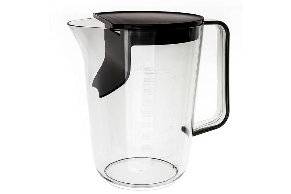 per sostituire il bicchiere per succo in uso