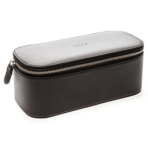 Luxury travel pouch