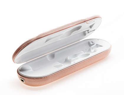 Zum Laden Ihrer Zahnbürste auf Reisen