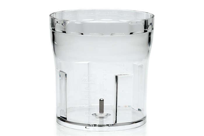 per sostituire il bicchiere in uso