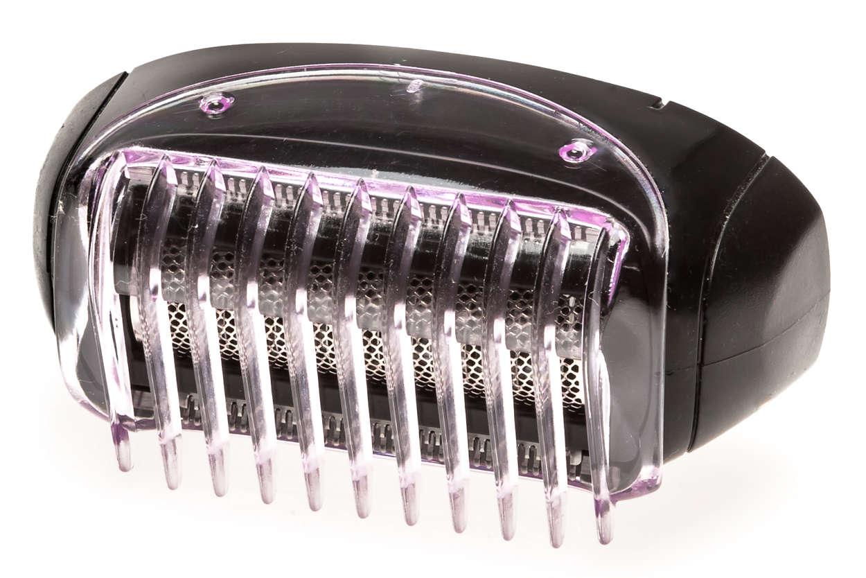 Voor comfortabel ultraglad scheren