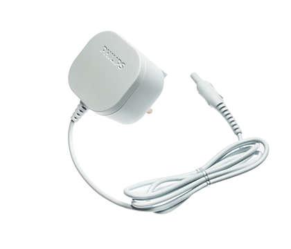 For easy recharging of your epilator