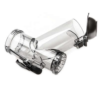 Wymiana obecnie używanego pojemnika na sok