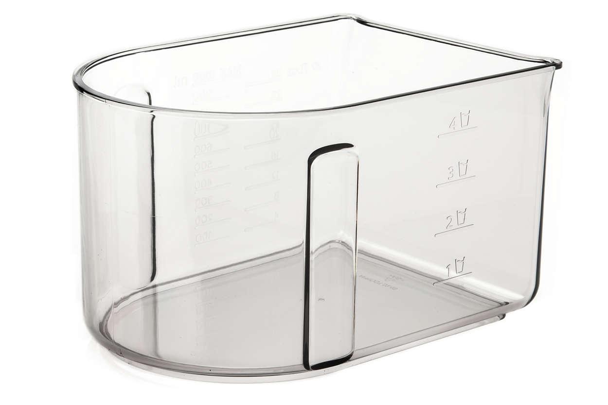 pour remplacer votre réservoir à pulpe