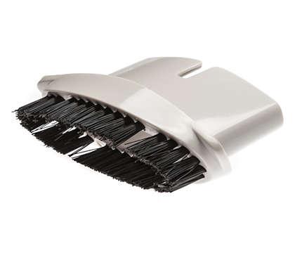 Bürstenzubehör für empfindliche Oberflächen und Haare