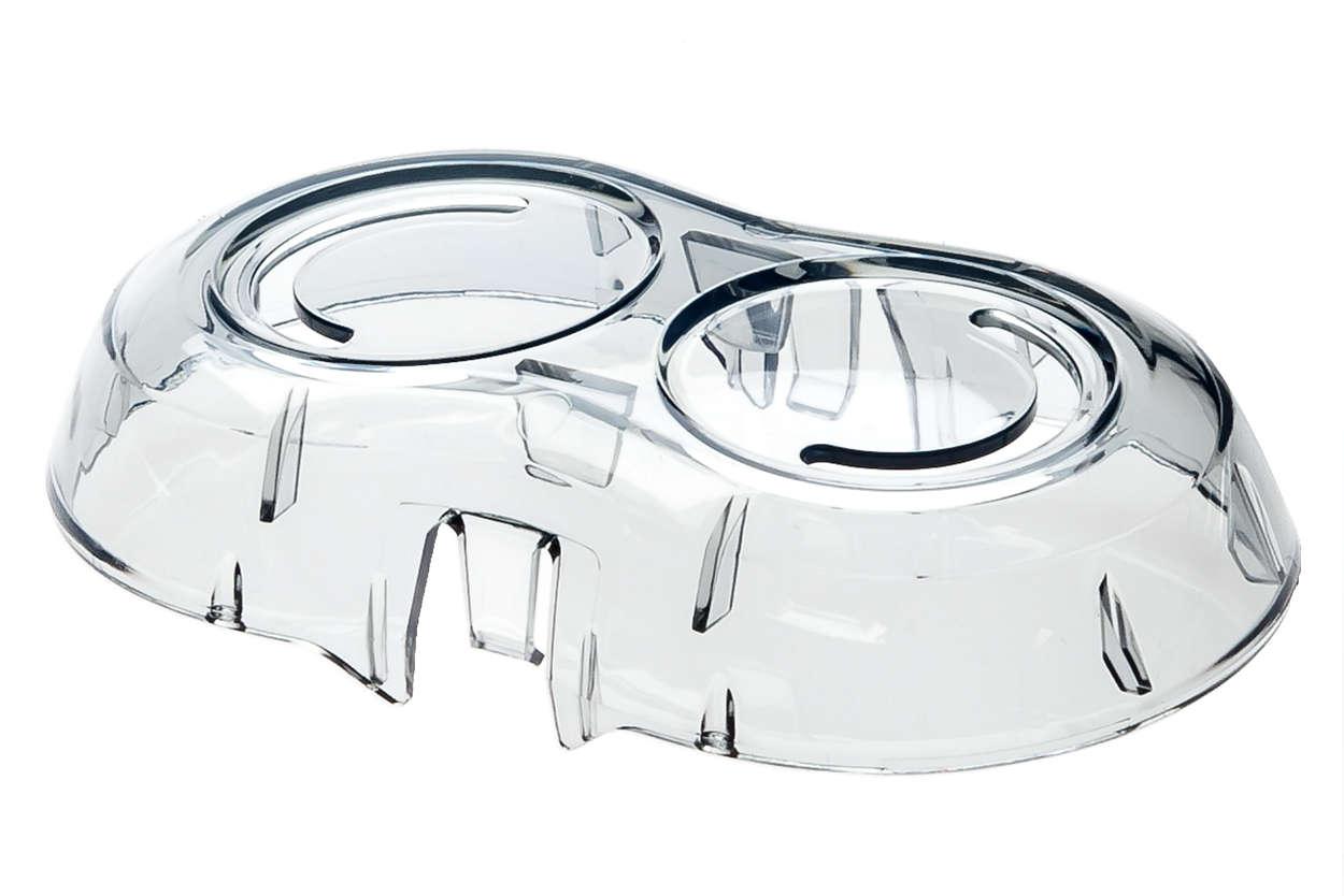 Un capot pour protéger votre appareil et le garder propre.