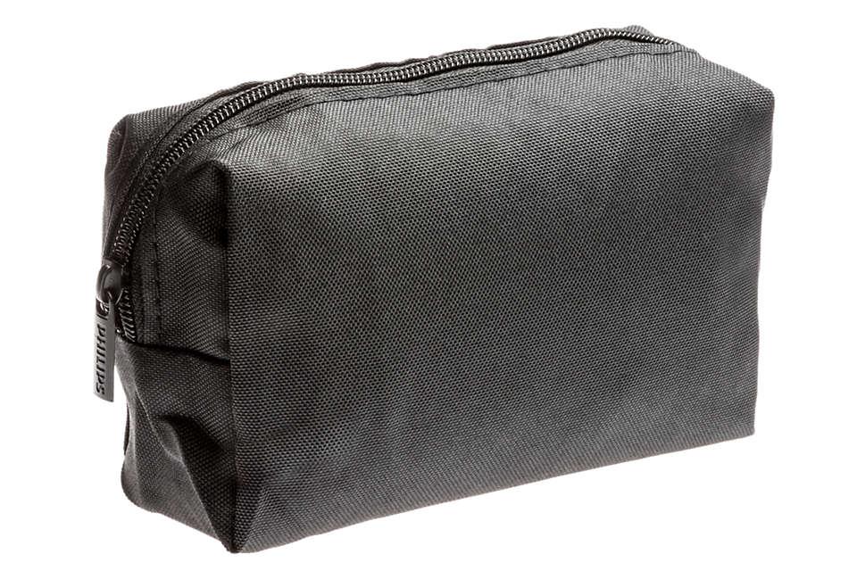 Eine Tasche zur praktischen Aufbewahrung Ihres Geräts.