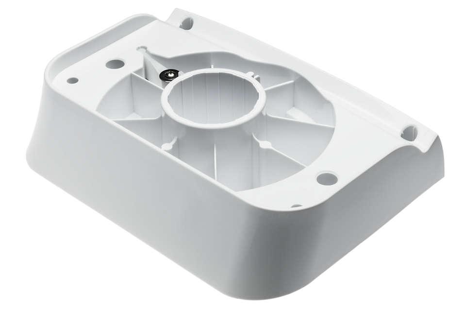 para cambiar el soporte de discos