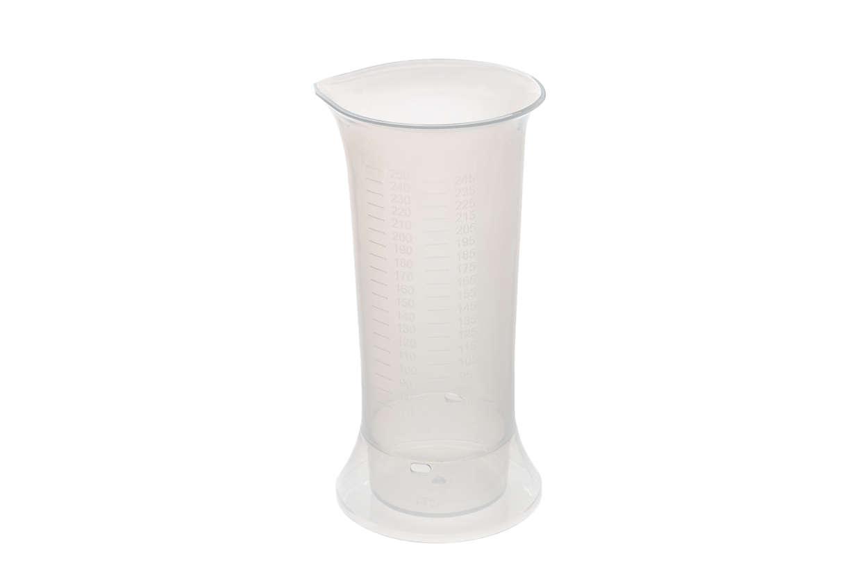 para cambiar el vaso medidor