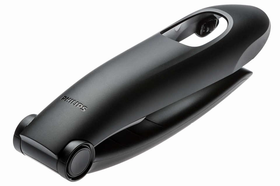 Elimina cómodamente el vello de la espalda con este accesorio