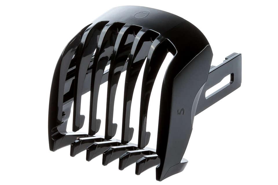 Deze trimkam is gemaakt voor het stylen van uw haar.