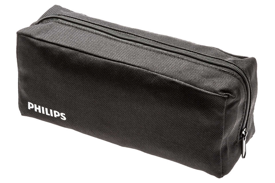 A pouch for convenient storage of your appliance.