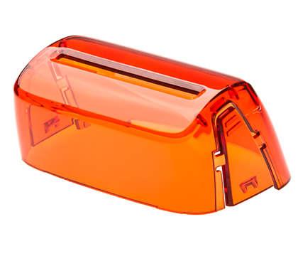 Una funda para mantener el dispositivo limpio y protegido.