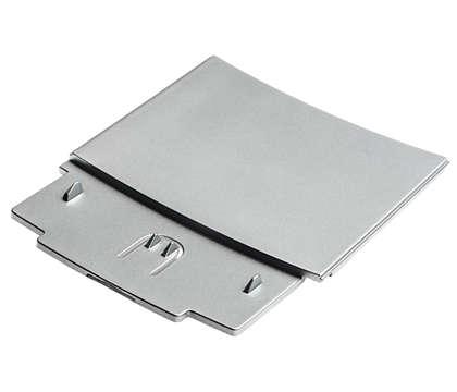 Questo è il pannello anteriore del cassetto per i fondi di caffè