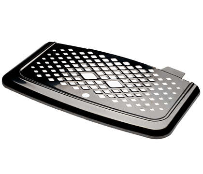 Metal drip tray cover