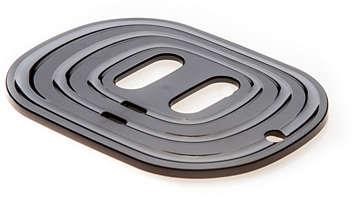 Voor SENSEO Latte Duo, plaat lekbakje, zwart