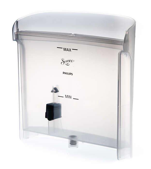 Zur Aufbewahrung von Wasser in Ihrer SENSEO® Kaffeepadmaschine
