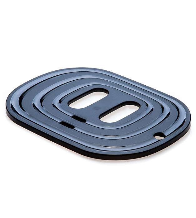 Plattan som du kan ställa kopparna på