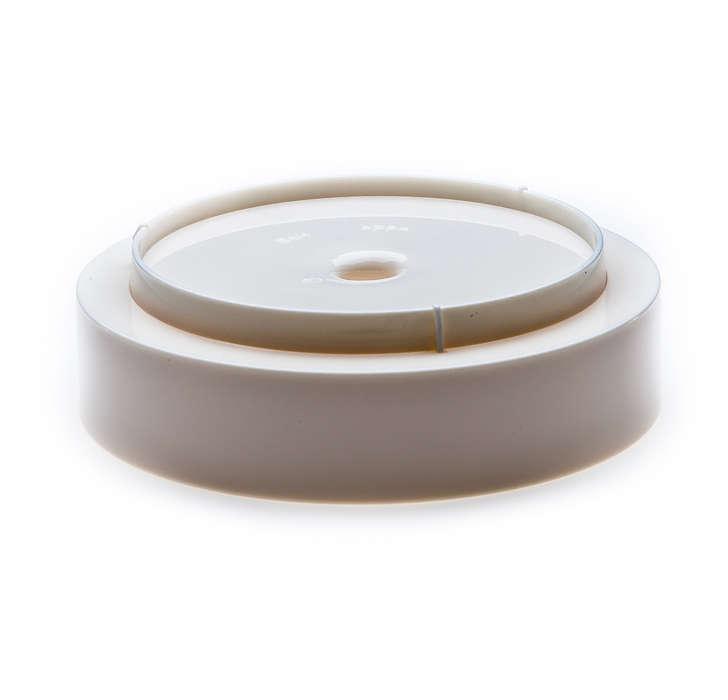 Sammelt überschüssige Kaffeetropfen