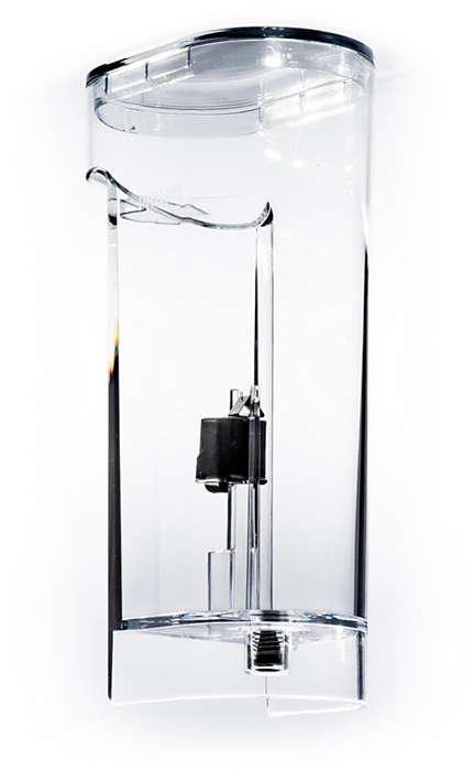 Til opbevaring af vand i din SENSEO-kaffemaskine