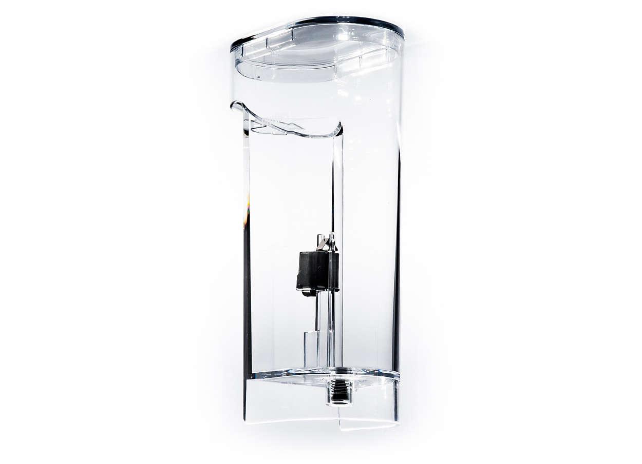 För förvaring av vatten i SENSEO-kaffebryggaren
