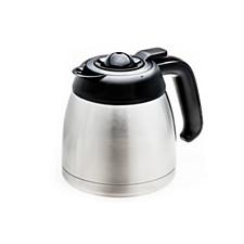 Kahvinkeittimen tarvikkeet ja lisäosat