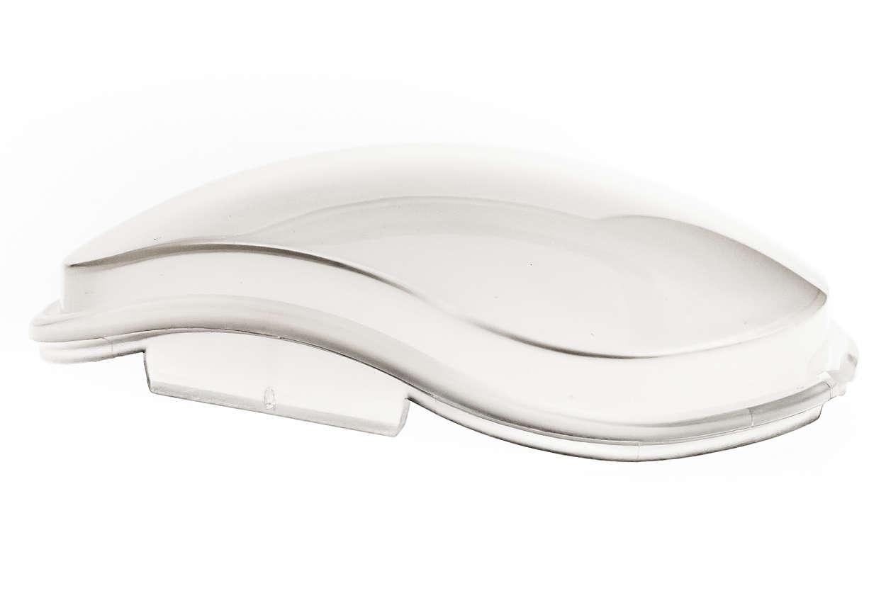 coperchio trasparente per un'acqua sempre pura e pulita